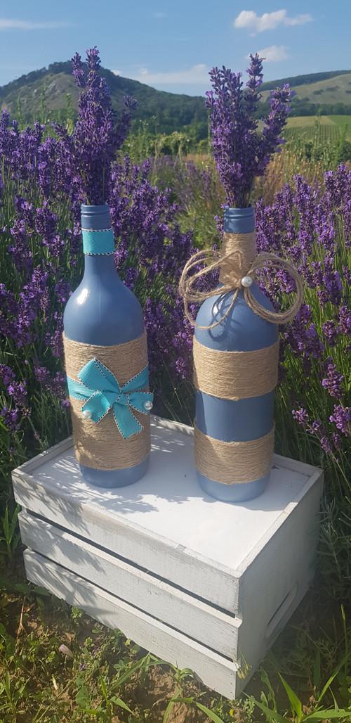 Modrá váza Pure Harmony