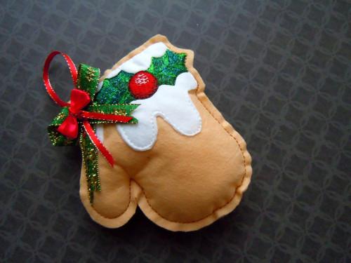 Vánoční rukavička