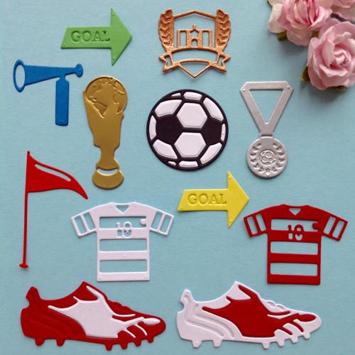 Fotbal - sada 12 ks,barva dle přání (výsek),SPO4+5