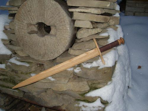 dřevěný meč