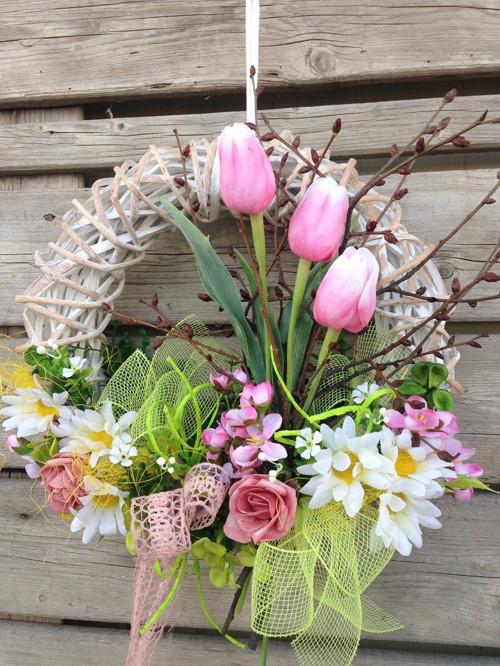 Věneček jarní, tulipánový ... :-)