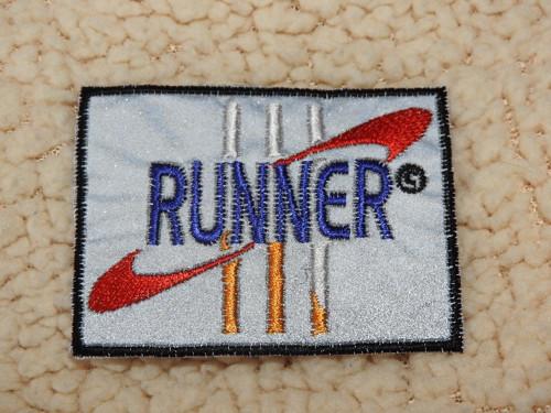 Nažehlovačka reflexní Runner