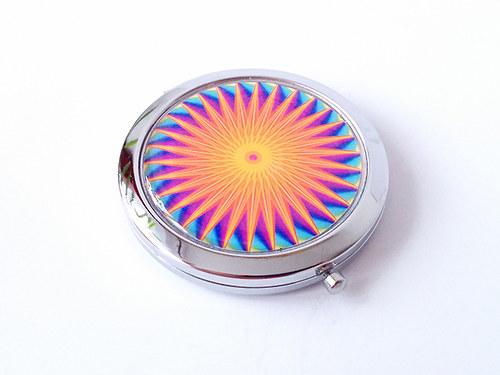Kosmetické zrcátko s Magickou mandalou 144