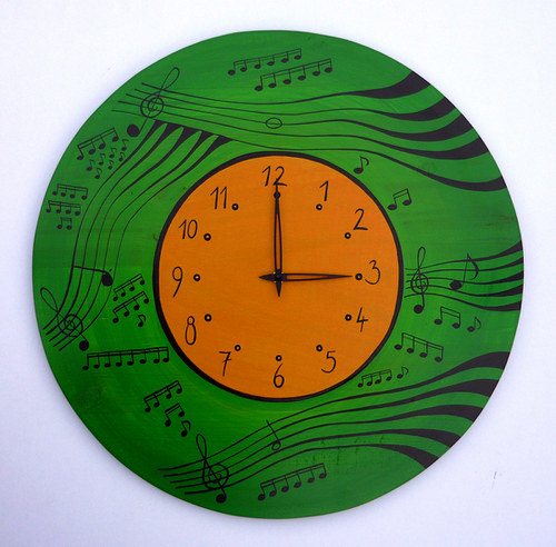 zelené hodiny - hudební