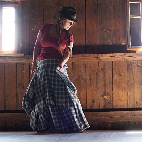 Mary Lou ze Sacramenta ...westernová maxi sukně