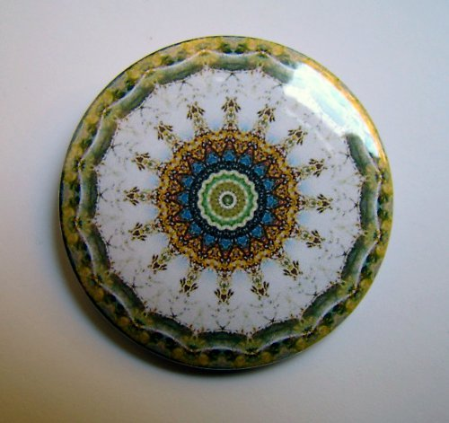 MANDALA 6 - placka - button - 44 mm