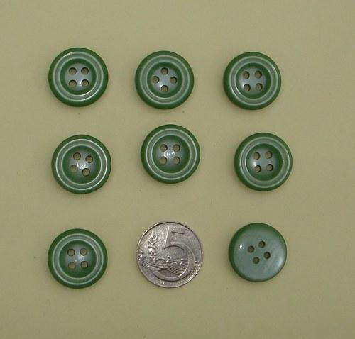 knoflíky zelené
