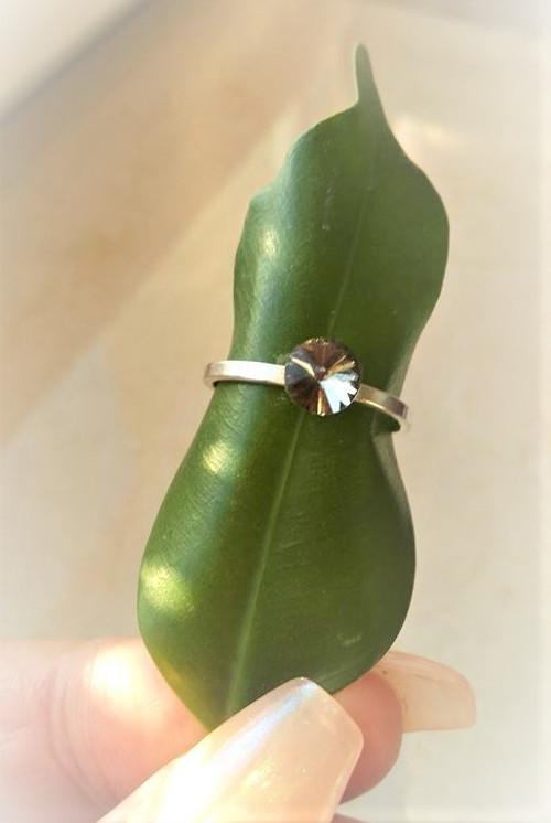 Něžný stříbrný prsten*Ag 925/1000