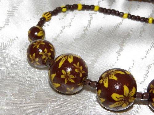 Slunečnice náhrdelník