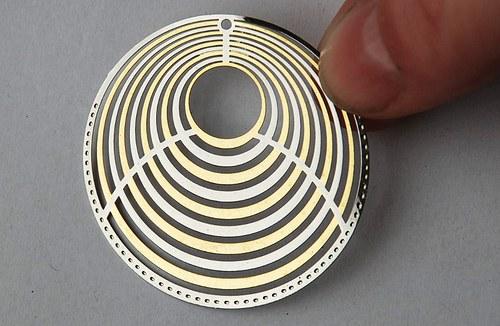 měděné kolečko- 42mm