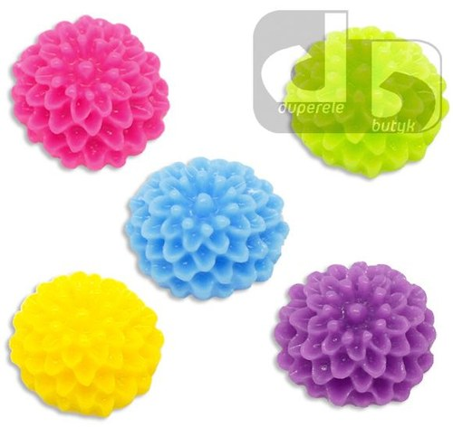 Mix Květin 10 mm z pryskyřice 100 ks