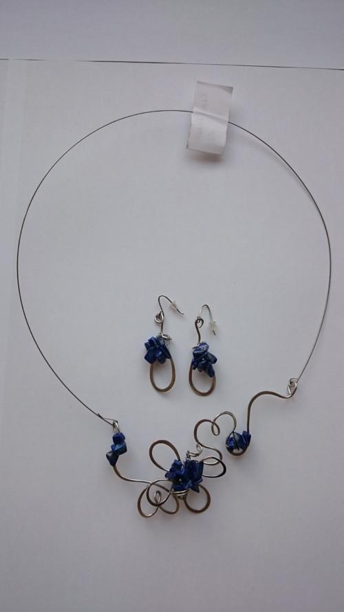 Květinková sada s lapisem lazuli