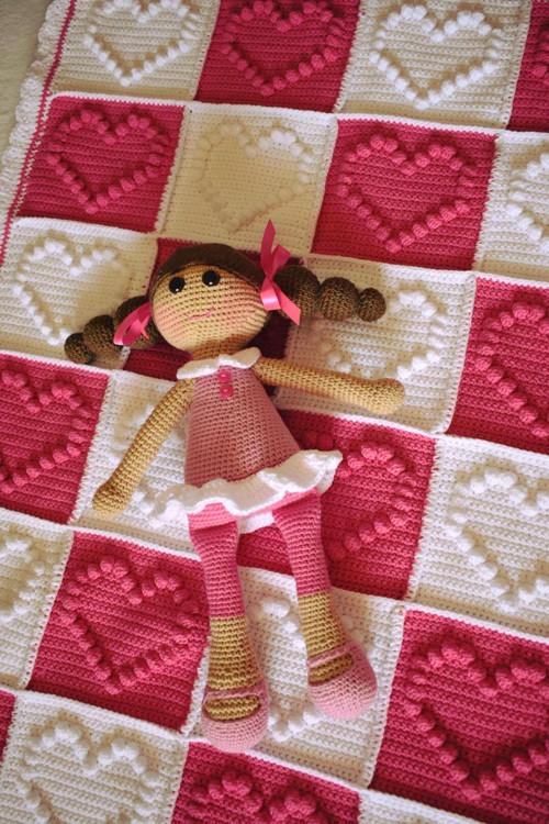 hačkovaná bábika