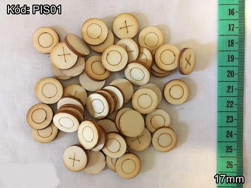 Překližkové piškvorky- cena za 5 párů