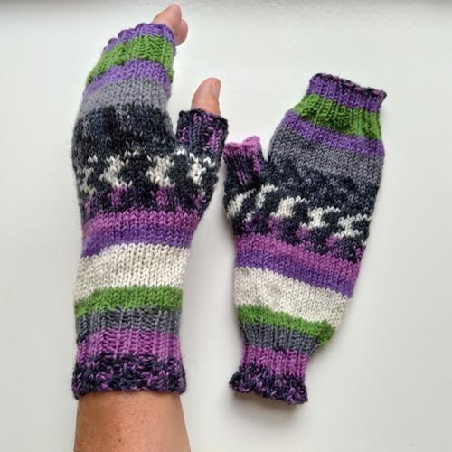 Lesní plody- bezprstové rukavice