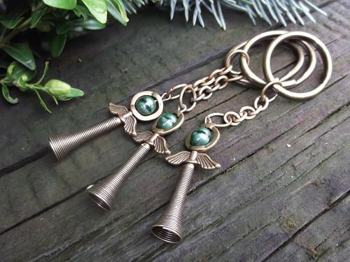 Klíčenka - andělíček smaragdový