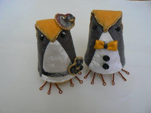 Ptáčci na svatební dort.