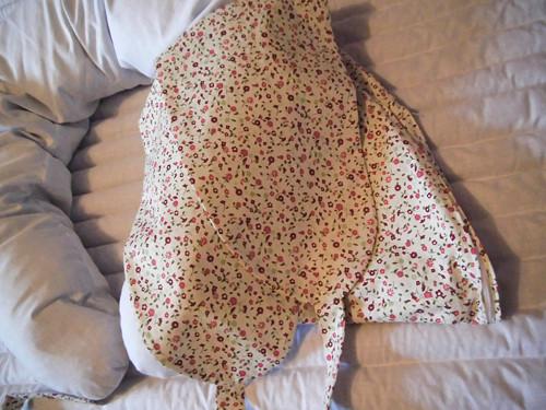 Potah na těhotenský/relaxační/kojící polštář