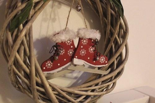 Rustikální věnec vánoční BRUSLENÍ