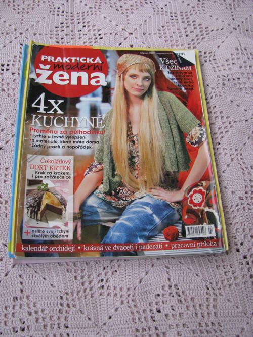 Časopisy Moderní praktická žena