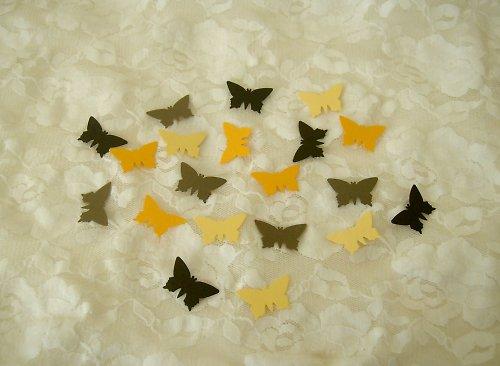 Výseky z raznice - Motýlci
