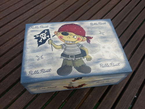 Krabička Pirát
