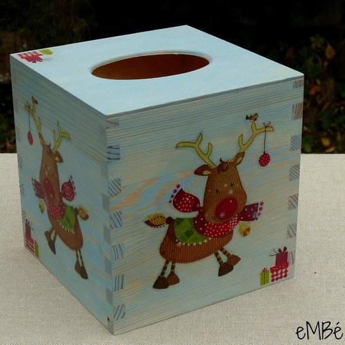Krabička - Sobí ubrouskovník...