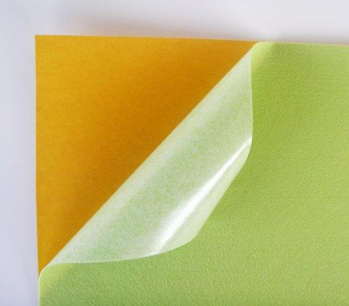 Samolepicí plsť barva č. 5 - hrášková