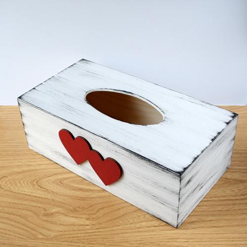 """Krabička na kapesníčky \""""srdeční záležitost\"""""""