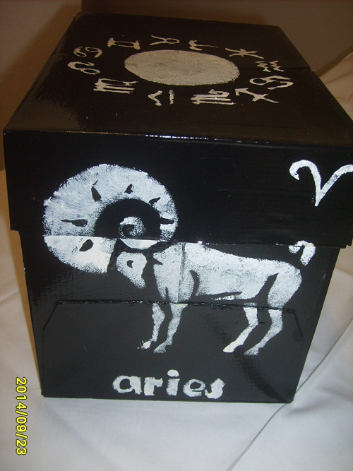 & Úložná krabice-znamení zvěrokruhu BERAN &