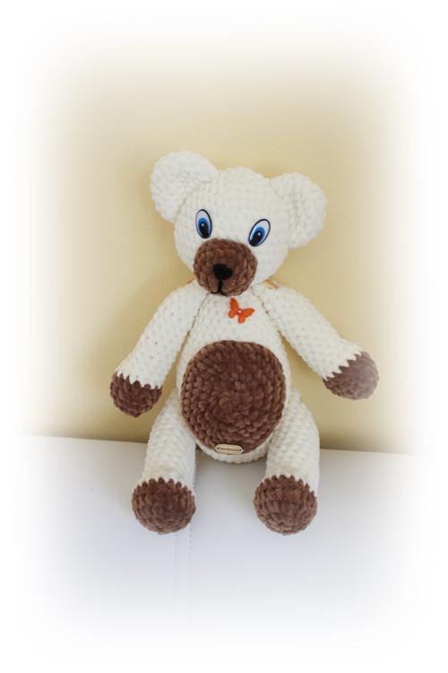 Béžový medvídek
