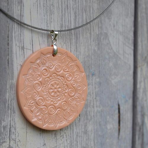 Meruňky- náhrdelník