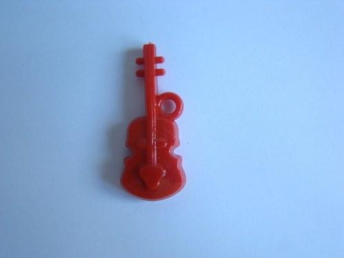 Kytara červená/ 1 kus