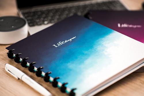 Zápisník Life Designer čistý