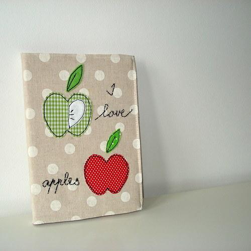 Jablíčkový zápisník....