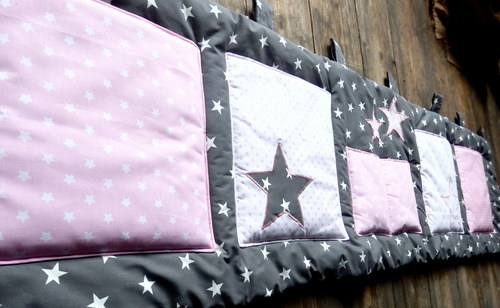 Kapsář za postel...hvězdné nebe-160x50cm
