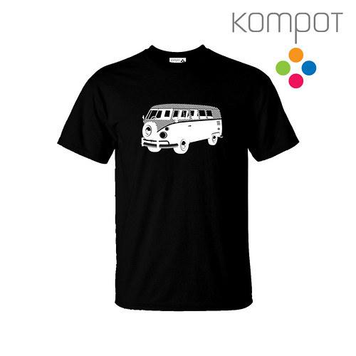 Pánské tričko MINIBUS :: černé, vel.S-2XL