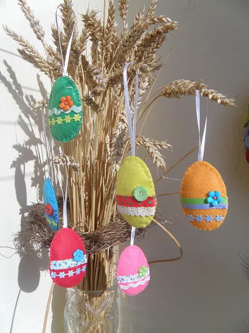 Velikonoční souprava Veselá vajíčka