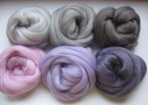 Sada fialovo sivá - 60 g jemná