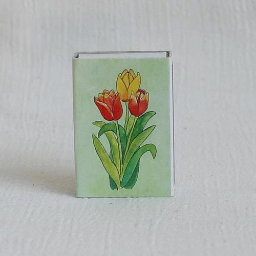 Obrázkové zápalky - tulipány