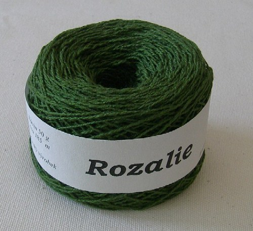 Rozalie - 601 tmavá zelená