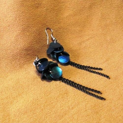 tmavě modré - perleťové