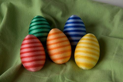 Proužkaté vajíčko