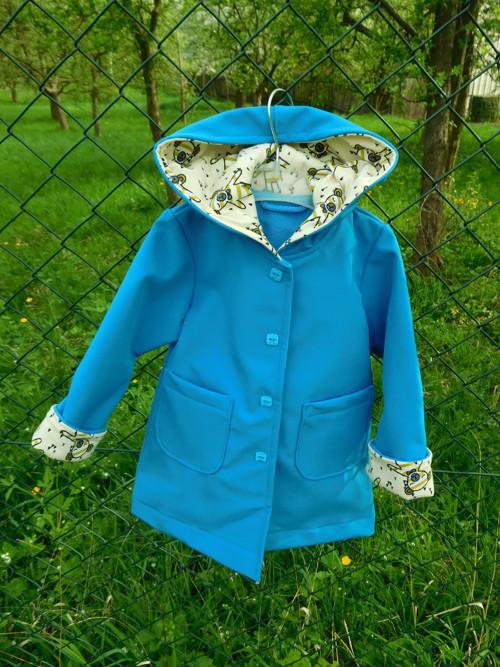 Dívčí softshellový kabátek