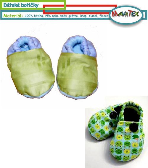 botičky dětské
