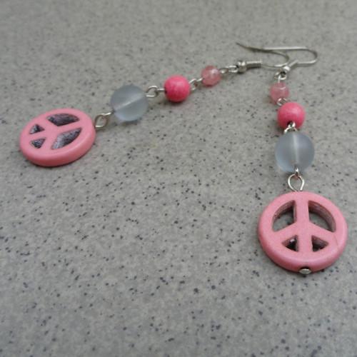 Peace - růžové