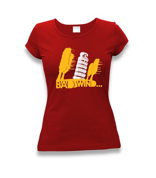 Bad wind - dámské tričko s potiskem