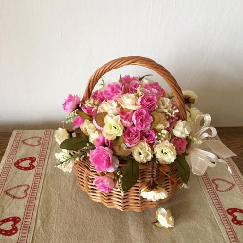 Romantický košíček
