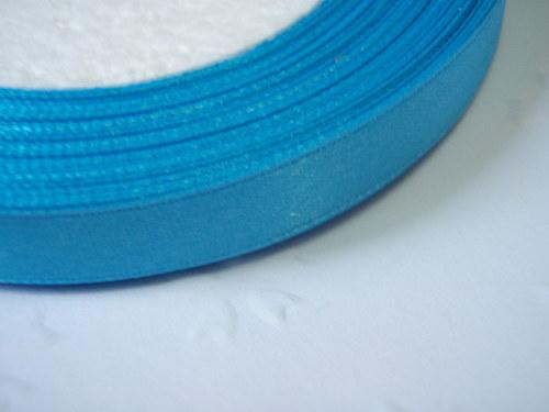 stuha středně modrá šíře 9 mm (1m)