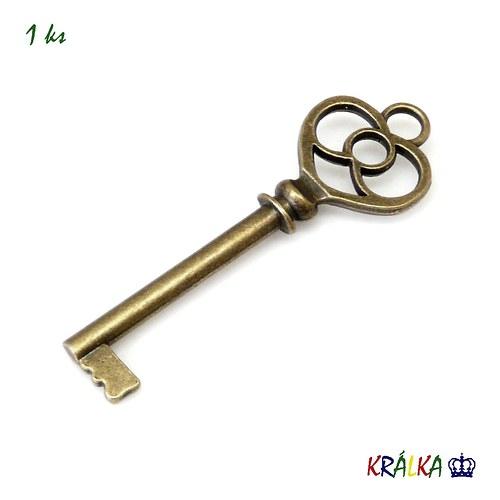 Přívěsek klíč velký